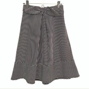 NWOT Striped midi skirt!